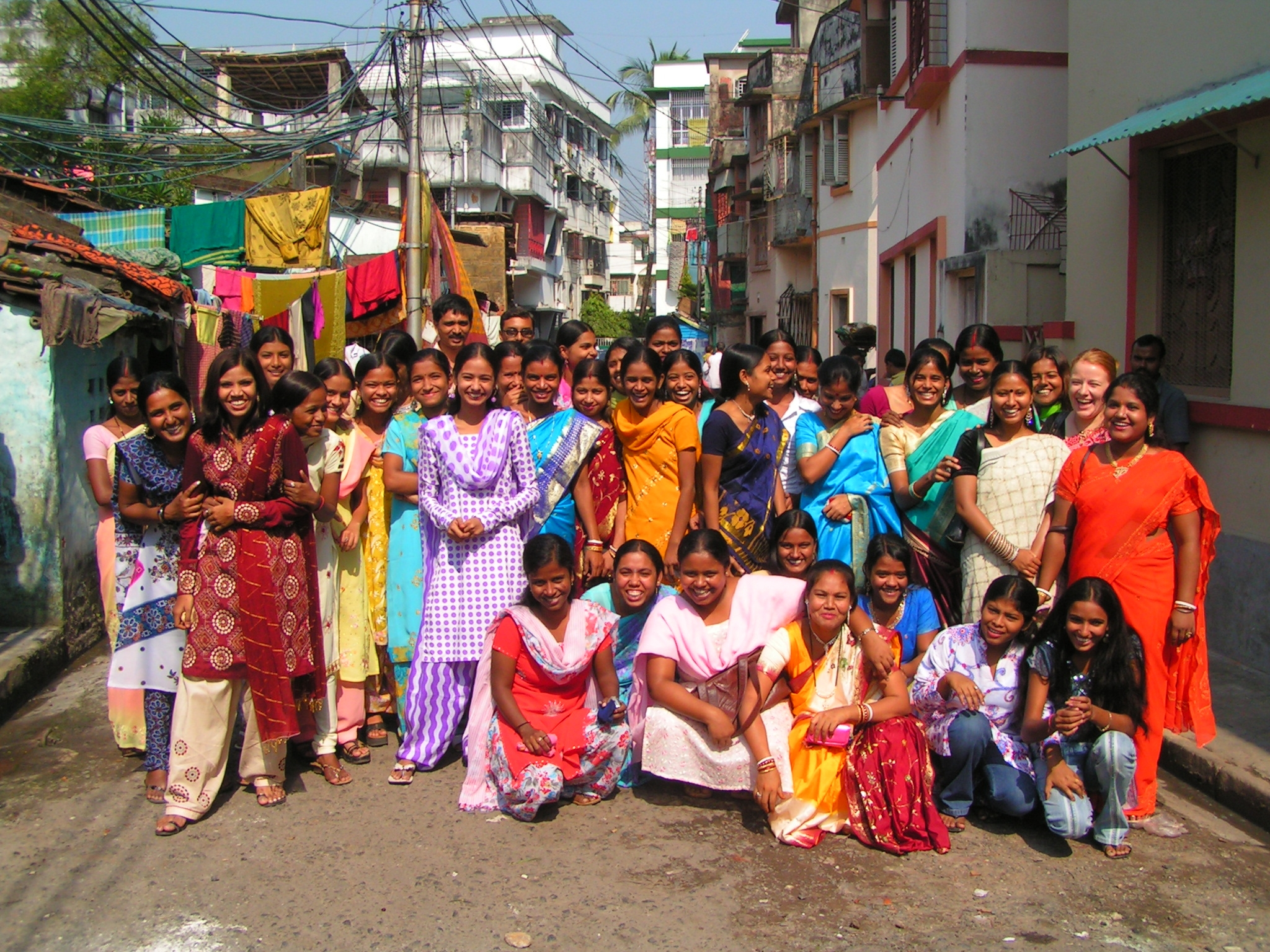 ConneXions in Kolkata, India, provides women the ability to earn a fair wage with dignity, keeping them from a life of prostitution.