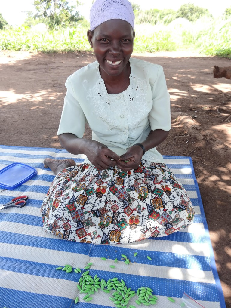 Artisans at ChildVoice International in Uganda are rebuilding their lives after being sex-trafficking victims by making paper bead products.